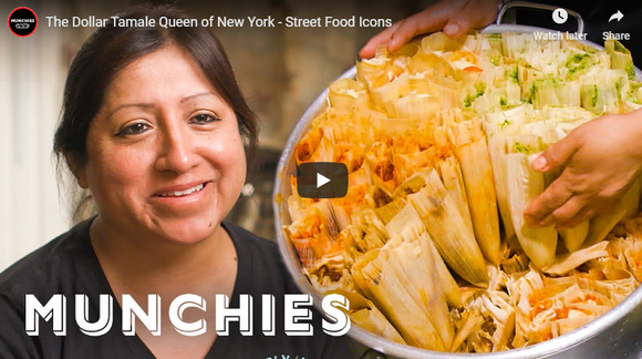 The Dollar Tamale Queen of New York