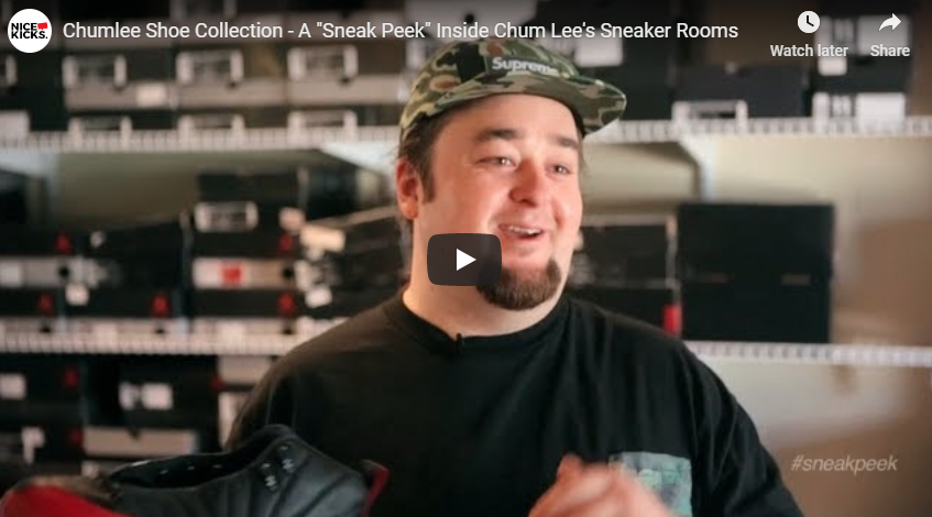 "Chumlee Shoe Collection - A ""Sneak Peek"" Inside Chum Lee's Sneaker Rooms"