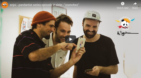 enjoi - pandartist series episode # siete -