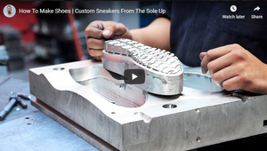 How To Make Shoes | Custom Sneakers From The Sole Up