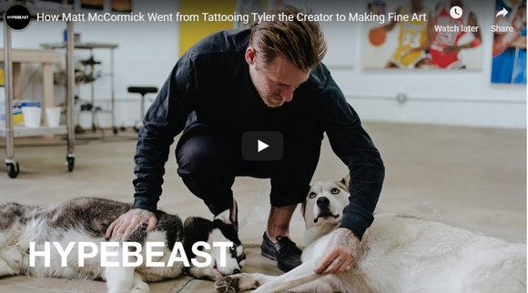 How Matt McCormick Went from Tattooing Tyler the Creator to Making Fine Art