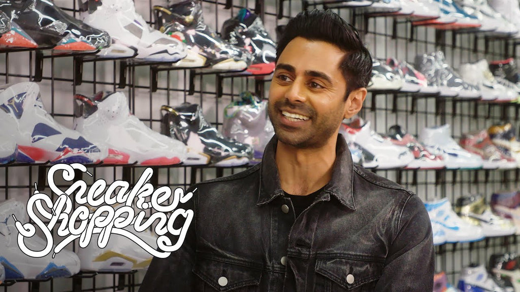 Hasan Minhaj Goes Sneaker Shopping With Complex