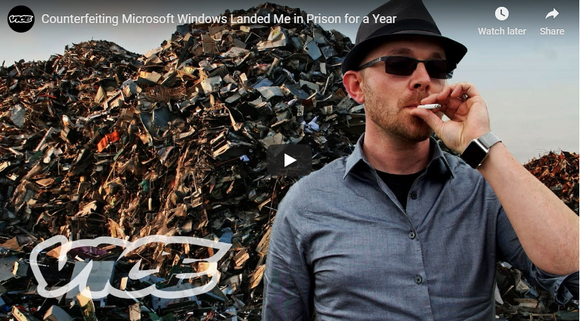 Counterfeiting Microsoft Windows Landed Me in Prison for a Year