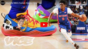 Meet the NBA's Custom Sneaker King