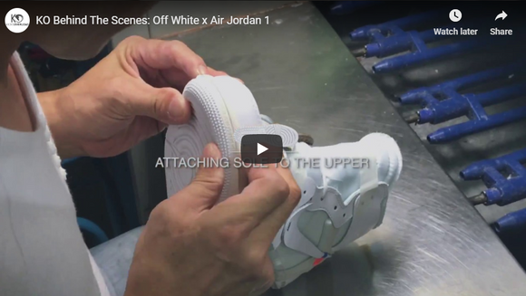 KO Behind The Scenes: Off White x Air Jordan 1