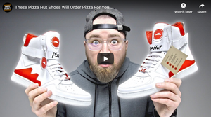 These Pizza Hut Shoes Will Order Pizza For You…