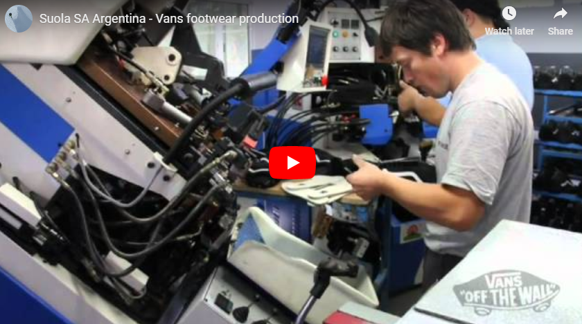 Suola SA Argentina - Vans footwear production