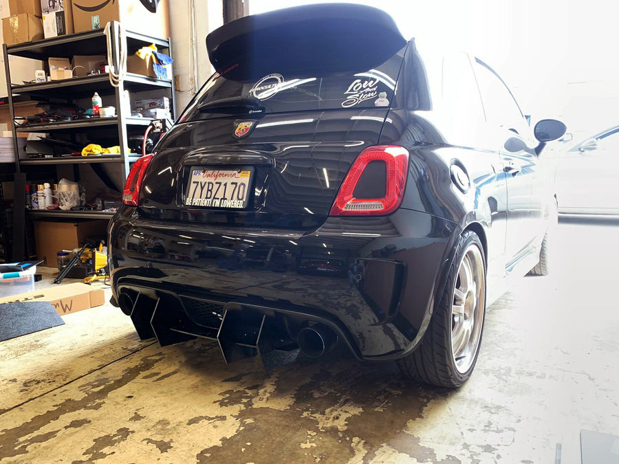 Abarth 500 Rear Diffuser