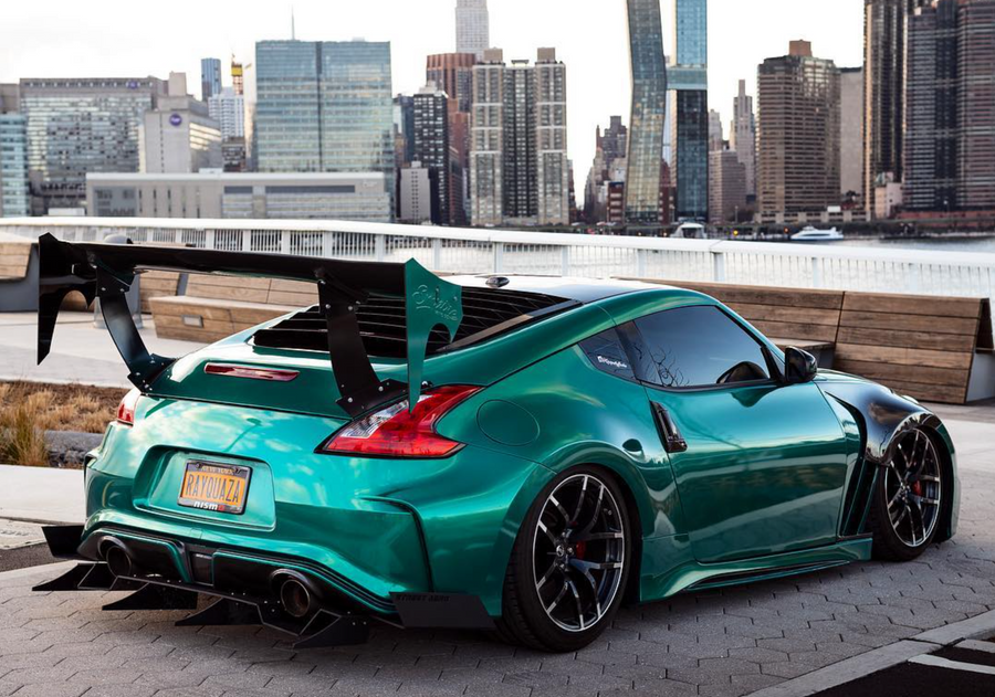 Nissan 370Z Rear Diffuser (@Guape_thebarber Special Edition)