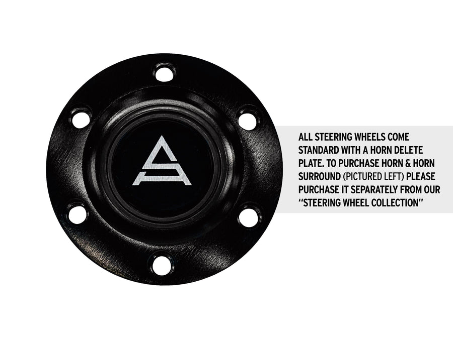 Shadow Blue Carbon Fiber Steering Wheel