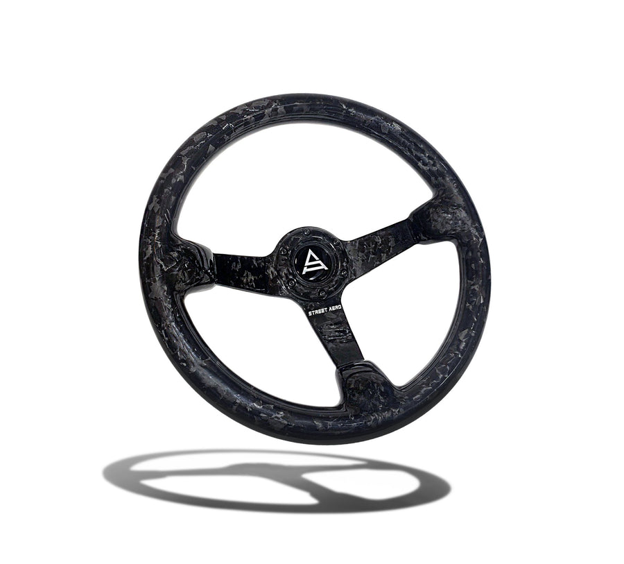 Forged Carbon Fiber Steering Wheel