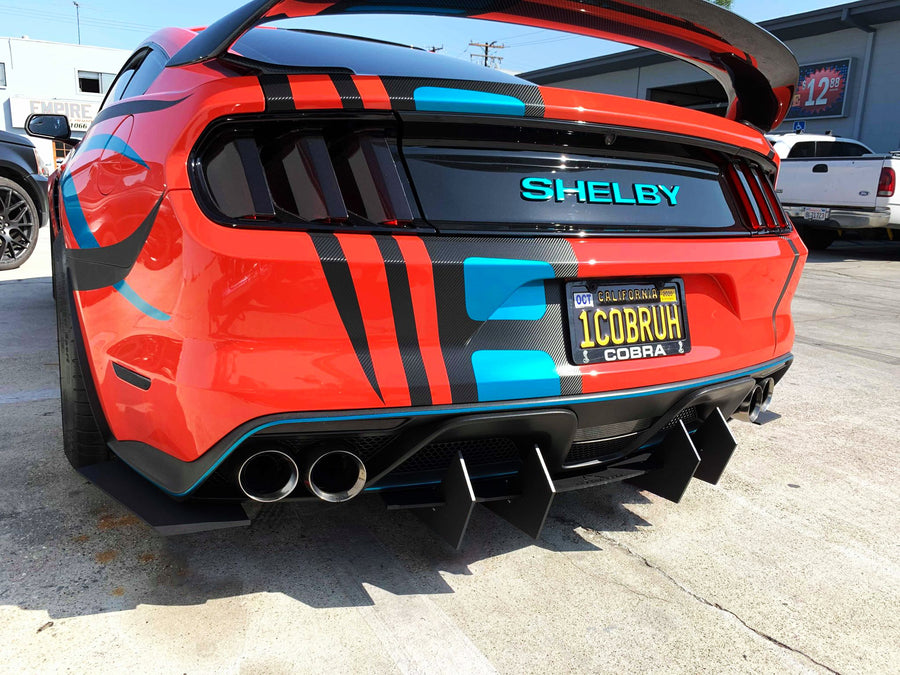 15-19 Ford Mustang GT350 Rear Diffuser