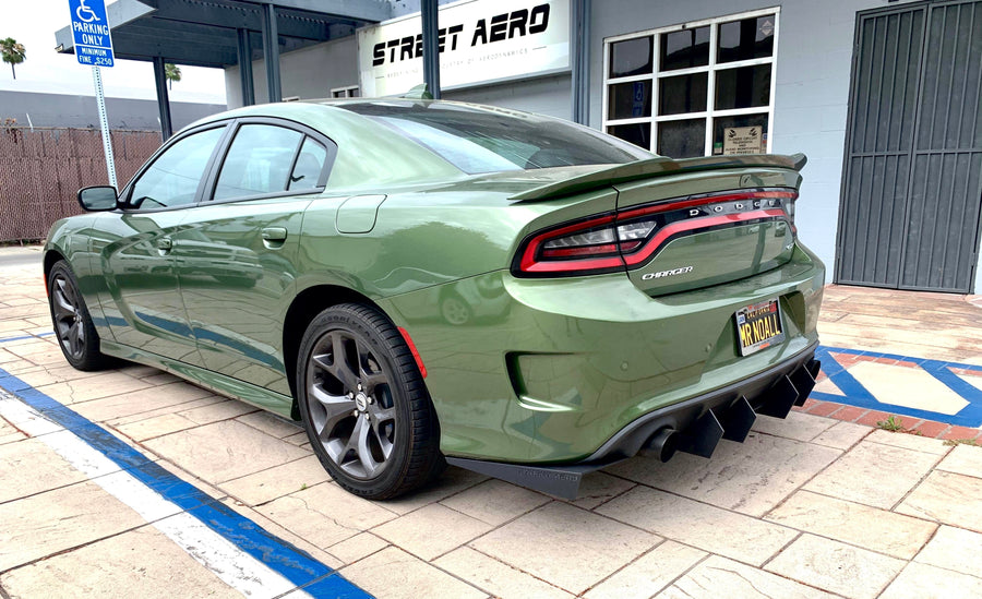 2015+ Dodge Charger Rear Diffuser (Select Styles)