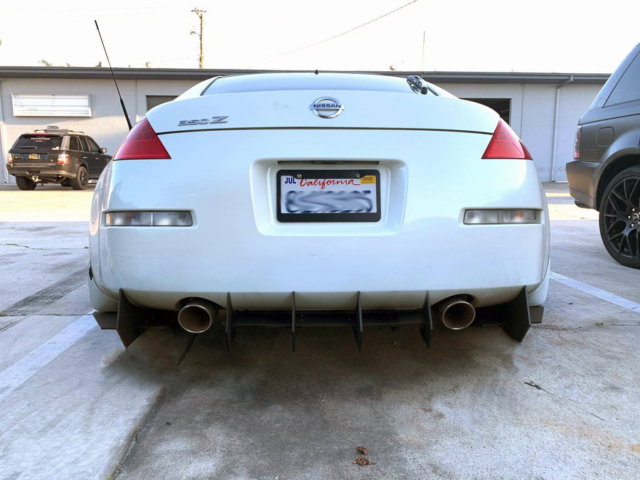 Nissan 350Z Rear Diffuser (V2 Edition)
