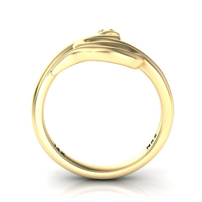 Stylish BFF Snake Ring 14K or 18K Gold NIJ001