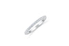 Diamond Wedding Band 0.26 ct tw Round-Cut 14K White Gold BAN055 - NorthandSouthJewelry