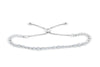 2.03 CT TW Bolo Adjustable Diamond Bracelet 14K White Gold DBR004 - NorthandSouthJewelry