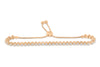 1.80 CT TW Bolo Adjustable Diamond Bracelet 14K Rose Gold DBR008 - NorthandSouthJewelry