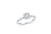 Diamond Engagement Ring 0.42 ct tw 14K White Gold DENG006 - NorthandSouthJewelry