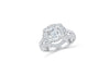 Diamond Engagement Ring 2.11 ct tw 14K White Gold DENG059