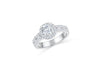 Diamond Engagement Ring 1.35 ct tw 14K White Gold DENG061