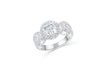 Diamond Engagement Ring 1.40 ct tw 14K White Gold DENG064