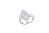 Marquise Diamond Engagement Ring 1.41 CT TW 14K White Gold DENG066 - NorthandSouthJewelry