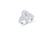 Marquise Diamond Engagement Ring 2.07 ct tw 14K White Gold DENG048