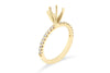 Monique Engagement Setting (Setting Only) 0.60 ct tw 14K Yellow Gold ESET001