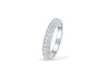 Diamond Anniversary Band 0.37 ct tw Round-cut 14K White Gold BAN002 - NorthandSouthJewelry