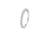 Diamond Anniversary Band 0.36 ct tw Round-cut 14K White Gold BAN003