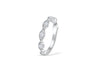 Diamond Anniversary Band 0.28 ct tw Round-cut 14K White Gold BAN011