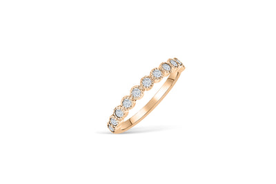 Diamond Anniversary Band 0.35 ct tw Round-cut 14K Rose Gold BAN016