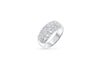 Diamond Anniversary Band 0.46 ct tw Round-cut 14K White Gold BAN026