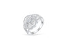 Diamond Anniversary Ring 0.63 ct tw Round-cut 14K White Gold BAN028