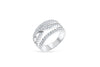 Diamond Anniversary Band 0.99 ct tw Round-cut 14K White Gold BAN030