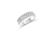 Diamond Anniversary Ring 0.59 ct tw Round-cut 14K White Gold BAN039
