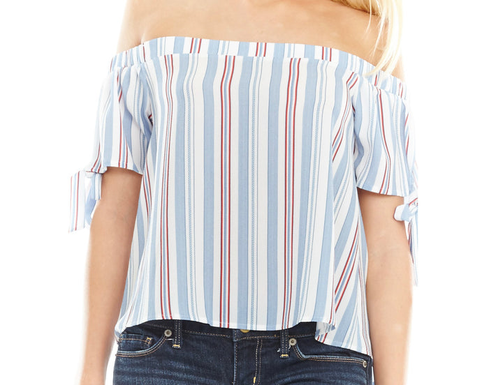 Americana Off the Shoulder Top
