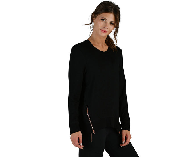Adore Long Sleeve in Black