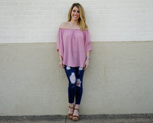 Sarah Grace Top in Dusty Rose