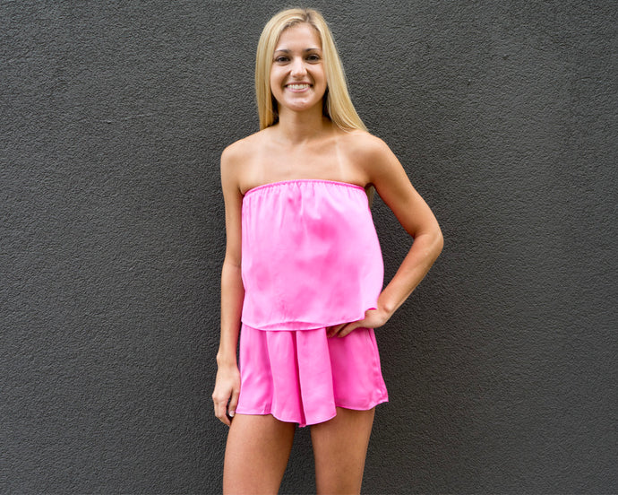 Malibu Barbie Ruffle Top Romper