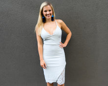 Baby Blue Bodycon Dress