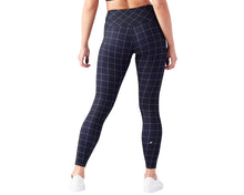 High Power II Legging in Black Windowpane