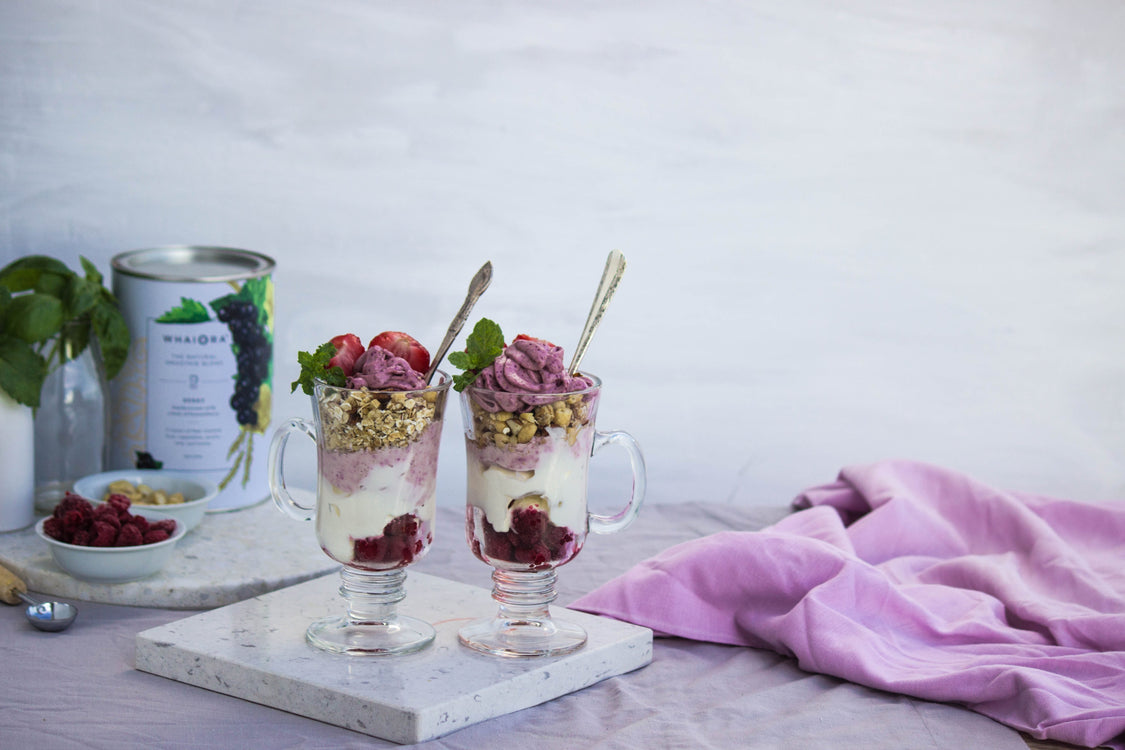 Berry parfait recipe