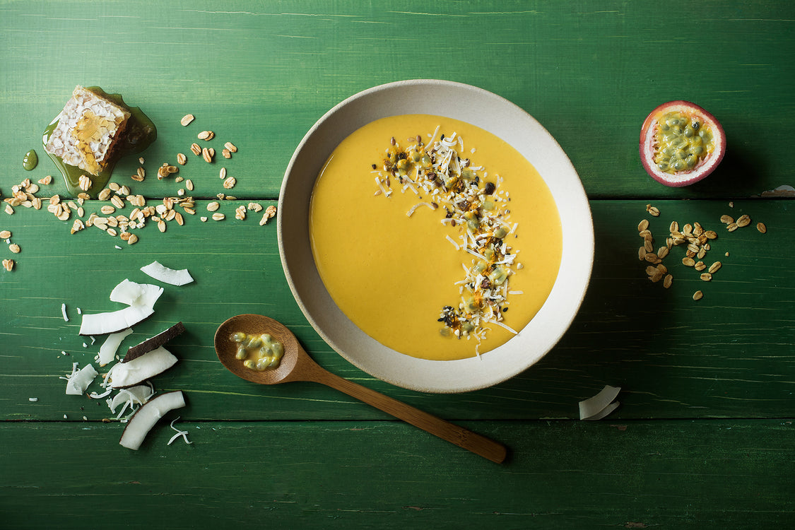 Warming Whaiora smoothie bowl