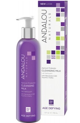 Andalou Naturals Age Defying (for Dry & Sensitive Skin) Apricot Probiotic Cleansing Milk 178ml - Natural Mumma