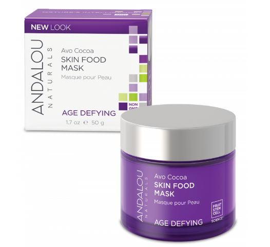 ANDALOU NATURALS Age Defying (for Dry & Sensitive Skin) Avo Cocoa Skin Food Mask 50ml - Natural Mumma