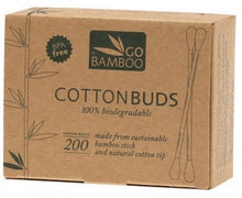 Go Bamboo Cotton Buds 200 pack - Natural Mumma