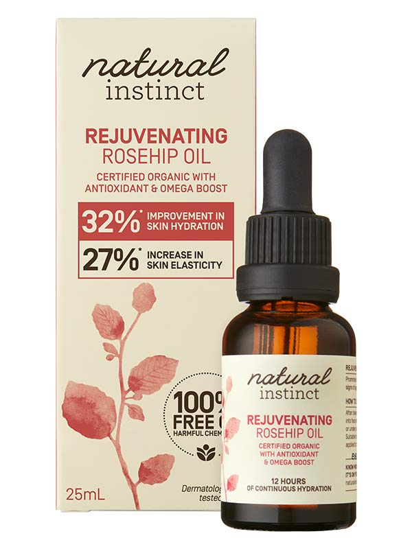 Nature's Instinct Rejuvenating Rosehip Oil 25ml - Natural Mumma