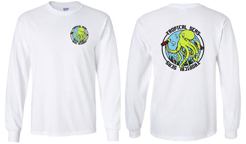 Drunk Octopus White Long Sleeve PRE-ORDER